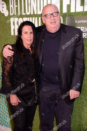 Barbara Carr and Jon Landau