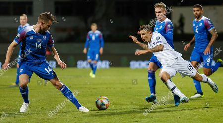 Editorial photo of France Euro 2020 Soccer, Reykjavik, Iceland - 11 Oct 2019
