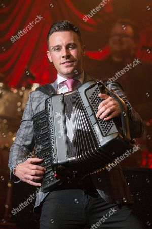Editorial picture of Nathan Carter in concert at the Glasgow Royal Concert Hall, Glasgow, Scotland, UK - 11 October 2019