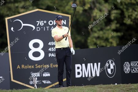Stock Photo of Thomas Pieters in action during the Second Round