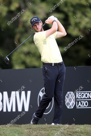 Thomas Pieters in action during the Second Round