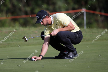Stock Picture of Thomas Pieters in action during the Second Round