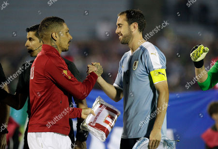 Editorial picture of Peru Friendly Soccer, Montevideo, Uruguay - 11 Oct 2019