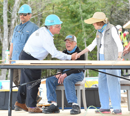 Nashville Mayor John Cooper, Jimmy Carter and Rosalynn Carter