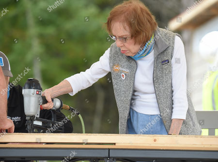Editorial image of 36th Jimmy and Rosalynn Carter Work Project, Nashville, USA - 11 Oct 2019