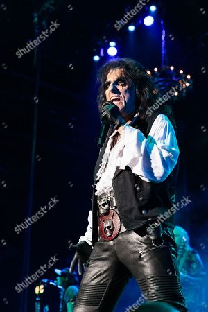 Stock Picture of Alice Cooper