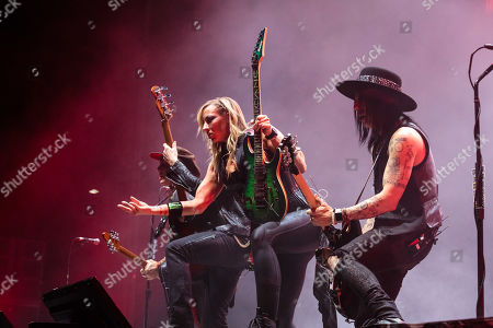 Stock Image of Ryan Roxie, Chris Wyse, Nita Strauss and Tommy Henriksen