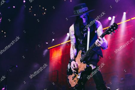 Editorial photo of Alice Cooper in concert at Resorts World Arena, Birmingham, UK - 11 Oct 2019