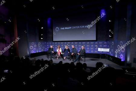 Paul Reiser, Jane Seymour, Sarah Baker, Michael Douglas, David Fear (Moderator)