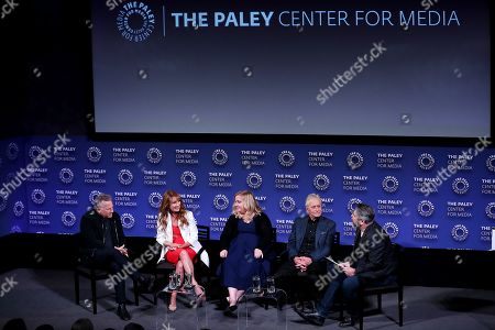 Editorial picture of 2019 Paleyfest NY: The Kominsky Method, Panel, New York, USA -11 Oct 2019