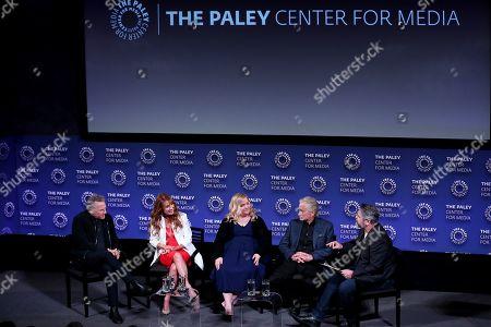Editorial photo of 2019 Paleyfest NY: The Kominsky Method, Panel, New York, USA -11 Oct 2019