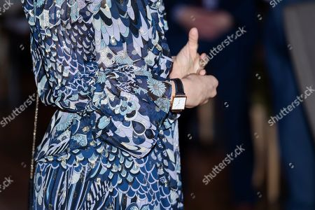 Crown Princess Victoria, watch detail