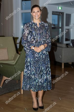 Editorial photo of Crown Princess Victoria visit to Iceland, Fludir - 11 Oct 2019