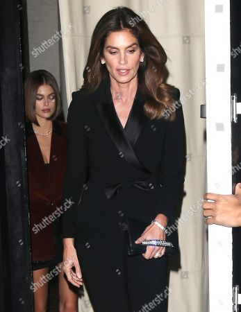 Stock Image of Kaia Gerber and Cindy Crawford