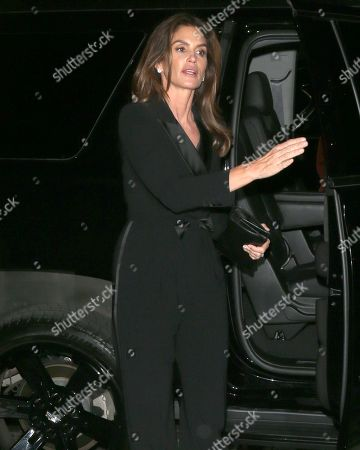 Stock Picture of Cindy Crawford