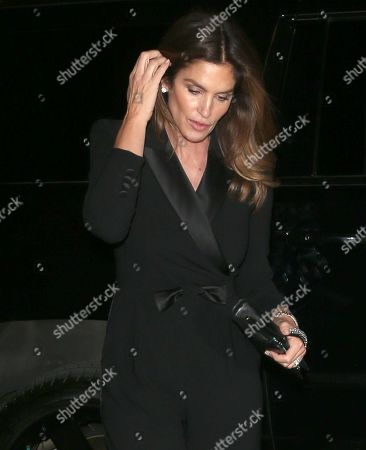 Stock Image of Cindy Crawford