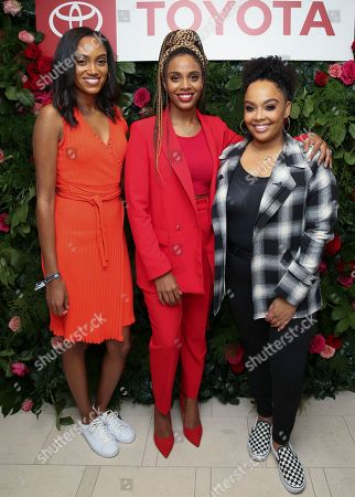 Jewel Burks Solomon, Jade Novah and Vanessa Bayden Kelly