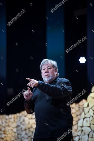 Stock Photo of Steve Wozniak