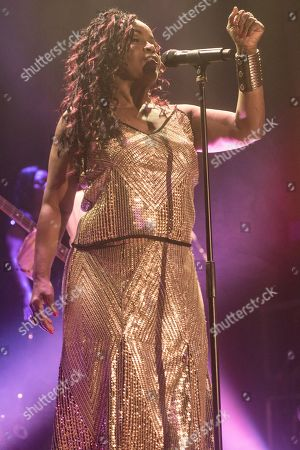 Editorial image of PP Arnold in concert at The Assembly Hall, Islington, London, UK - 11 Oct 2019