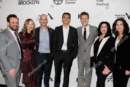Adrian Alperovich, Rachel Shane, Bill Migliore, Michael Bederman, Edward Norton, Sue Kroll and Gigi Pritzker (Producers),