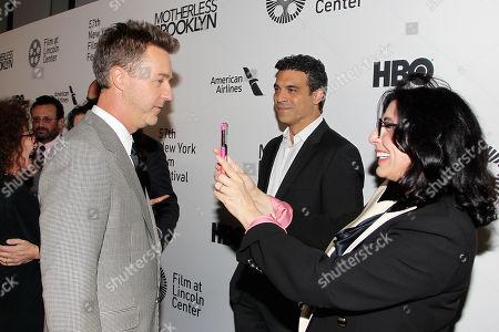 Edward Norton, Michael Bederman and Sue Kroll