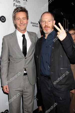 Edward Norton and Toby Emmerich