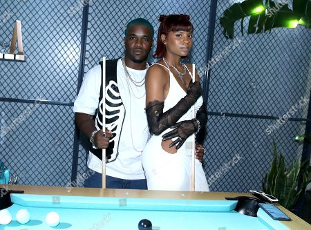 Exclusive - ASAP Ferg and Renell Medrano attend Tiffany & Co. Mens Launch, held at Hollywood Athletic Club, Los Angeles, CA @tiffanyandco #TiffanyMens