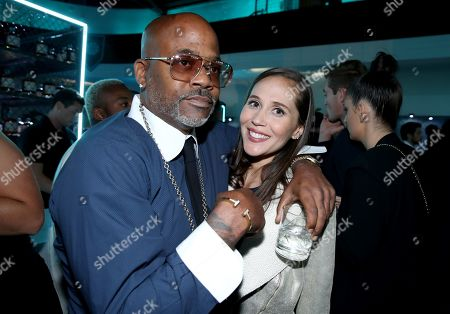 Stock Image of Exclusive - Damon Dash and guest attends Tiffany & Co. Mens Launch, held at Hollywood Athletic Club, Los Angeles, CA @tiffanyandco #TiffanyMens