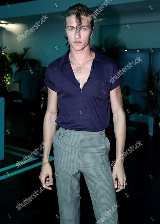 Exclusive - Lucky Blue Smith attends Tiffany & Co. Mens Launch, held at Hollywood Athletic Club, Los Angeles, CA @tiffanyandco #TiffanyMens