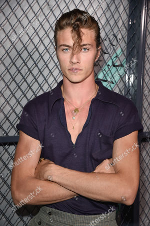 Stock Picture of Lucky Blue Smith attends the Tiffany & Co. Mens Launch, held at Hollywood Athletic Club, Los Angeles, CA @tiffanyandco #TiffanyMens