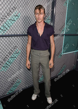 Stock Image of Lucky Blue Smith attends the Tiffany & Co. Mens Launch, held at Hollywood Athletic Club, Los Angeles, CA @tiffanyandco #TiffanyMens