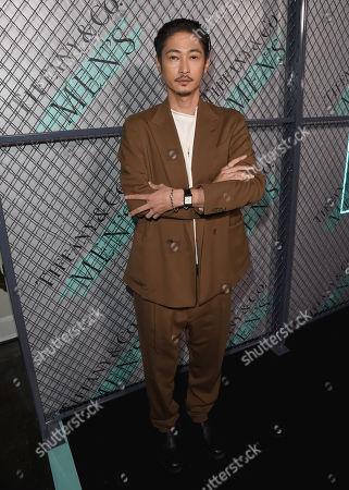 Yosuke Kubozuka attends the Tiffany & Co. Mens Launch, held at Hollywood Athletic Club, Los Angeles, CA @tiffanyandco #TiffanyMens