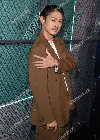 Stock Picture of Yosuke Kubozuka attends the Tiffany & Co. Mens Launch, held at Hollywood Athletic Club, Los Angeles, CA @tiffanyandco #TiffanyMens