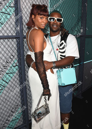 Renell and ASAP Ferg at Tiffany & Co. Mens Launch, held at Hollywood Athletic Club, Los Angeles, CA @tiffanyandco #TiffanyMens