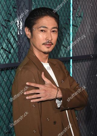 Stock Photo of Yosuke Kubozuka at Tiffany & Co. Mens Launch, held at Hollywood Athletic Club, Los Angeles, CA @tiffanyandco #TiffanyMens
