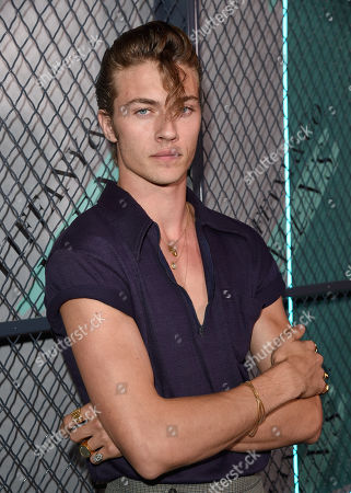 Lucky Blue Smith attends the Tiffany & Co. Mens Launch, held at Hollywood Athletic Club, Los Angeles, CA @tiffanyandco #TiffanyMens