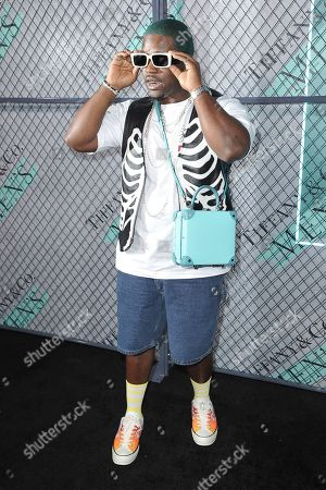 ASAP Ferg attends the launch of New Tiffany and Co. Men's Collection at the Hollywood Athletic Club, in Los Angeles
