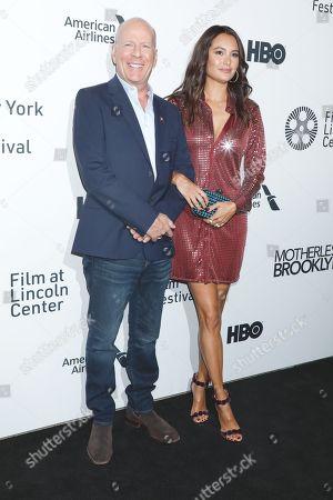 Bruce Willis and Emma Heming