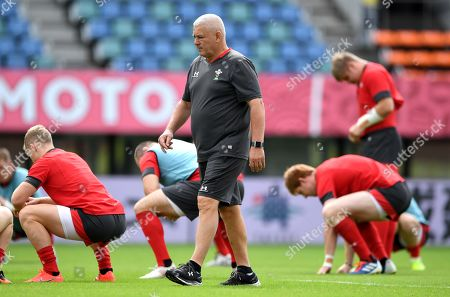 Editorial image of Wales Rugby Training - 12 Oct 2019