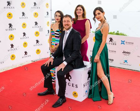 Alix Angelis, Damien LeVeck, Natalie LeVeck and Ana Uridou
