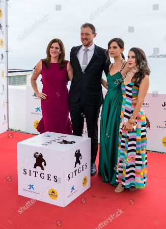 Editorial image of 'The Cleansing Hour' photocall, 52nd Sitges Fantastic Film Festival, Spain - 11 Oct 2019