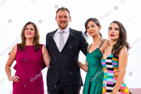 Natalie LeVeck, Damien LeVeck, Ana Uridou and Alix Angelis