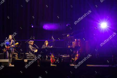 """Norah Jones performs onstage during the """"Silence the Violence"""" Benefit Concert held at The Anthem, in Washington"""