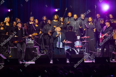 """Editorial picture of """"Silence the Violence"""" Benefit Concert - Show, Washington, USA - 11 Oct 2019"""