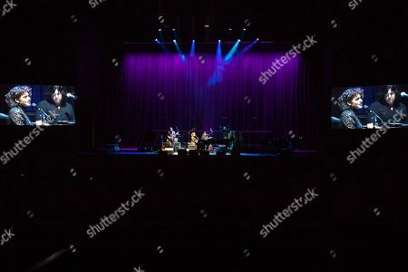 """Norah Jones performs on stage during the """"Silence the Violence"""" Benefit Concert held at The Anthem, in Washington"""