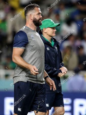 Ireland vs Samoa. Ireland defence coach Andy Farrell ahead of the game