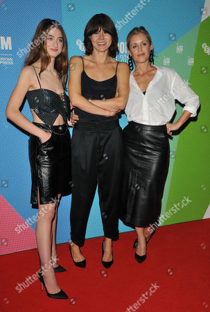 Raffey Cassidy, Malgorzata Szumowska and Denise Gough