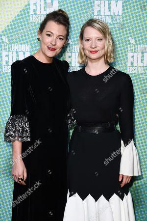 Mirrah Foulkes and Mia Wasikowska