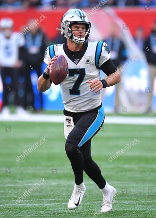 Editorial image of Carolina Panthers  v Tampa Bay Buccaneers, NFL, American Football, Tottenham Hotspur Stadium, London, UK - 13 Oct 2019