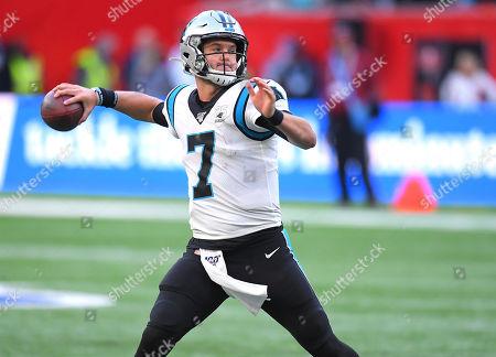 Editorial picture of Carolina Panthers  v Tampa Bay Buccaneers, NFL, American Football, Tottenham Hotspur Stadium, London, UK - 13 Oct 2019